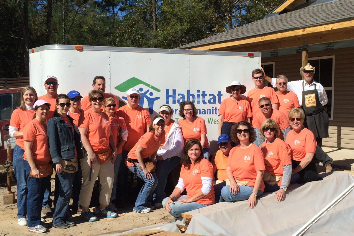 Annual Habitat for Humanity Work Day