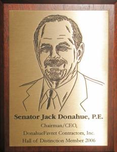 Jack Donahue LSU Engineering Hall of Distinction
